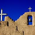 Picuras Pueblo Mission Belltower. by Spirit Vision Photography