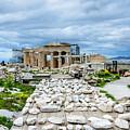 Acropolis - Pieces Of The Puzzle by Debra Martz