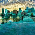 Pier 14 San Francisco Sky Long  by Blake Richards
