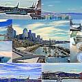 Pier 66 Collage by Maro Kentros