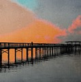 Pier At Dusk by Paul Wilford
