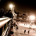 Pier At Night by Ronald Talley