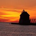 Pier Fire- Btbutler by Robert Pearson