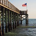 Pier, Flag, Fishing by Lucio Cicuto
