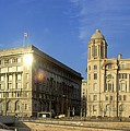 Pier Head Liverpool Panorama 2 by Steve Kearns