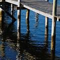 Pier Reflection by Hideaki Sakurai
