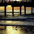 Pier Reflections by D Hackett