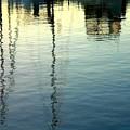 Pier  Reflections by William Meemken