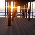 Pier Shadows by Robert Banach