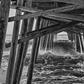 Pier Storm by Kelley Freel-Ebner
