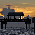 Pier Sunset by David Lee Thompson