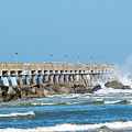 Pier Surf by Kenneth Albin