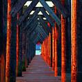 Pier Symmetry   by Brian O'Kelly