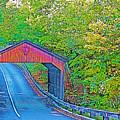Pierce Stocking Covered Bridge In Sleeping Bear Dunes National Lakeshore-michigan by Ruth Hager