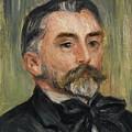 Pierre-auguste Renoir 1841-1919 Portrait Stephane Mallarme by Artistic Rifki