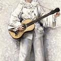 Pierrot by Leon Francois Comerre