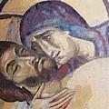 Pieta-mural Detail by Dragica Micki Fortuna