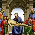 Pieta by Pietro Perugino