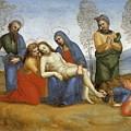 Pieta Raffaello Sanzio Da Urbino Raphael Raffaello Santi by Eloisa Mannion