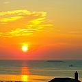 Pigeon Cove Summer Sunrise by Harriet Harding