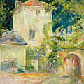 Pigeon Loft At The Chateau Du Mesnil by Berthe Morisot