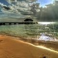 Pigeon Point Beach Tobago by Melony Mejias