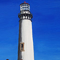 Pigeon Point Lighthouse by Anne Marie Brown