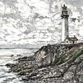 Pigeon Point Lighthouse by Stephany Elsworth