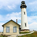 Pigeon Point Lighthouse View by Art Block Collections
