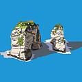 Pigeon Rocks, Beirut by Dia Karanouh