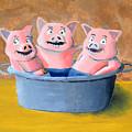 Pigs In A Tub by Winton Bochanowicz