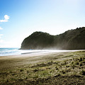 Piha, New Zealand by Dave White