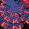 Pike Place Market Entrance by Tim Allen