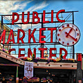 Pike Place Market by Joan  Minchak