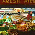 Pike Place Market Produce by Lydia L Kramer