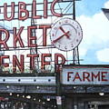 Pike Place by Perry Woodfin