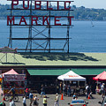 Pike Place Public Market by Louise Magno