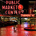 Pike Place Reflections by Jeff Greene