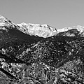 Pikes Peak And Incline Panorama by Steve Krull