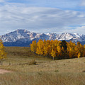 Pikes Peak In The Fall by Carol Milisen