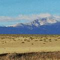 Pikes Peak Painterly by Ernie Echols