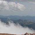 Pikes Peak Summit Clouds by Karen Freeman
