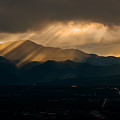 Pikes Peak Sunset by Alex Browne