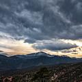 Pikes Peak Sunset by Erika Fawcett
