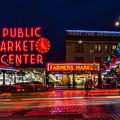 Pikes Place Market by Celeste Shuler