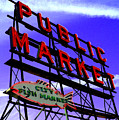 Pike's Place Market by Nick Gustafson