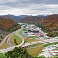 Pikeville Cut-through by Cris Ritchie