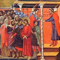 Pilate Washes His Hands 1311 by Duccio