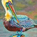 Pile High Pelican by Lisa Tygier Diamond