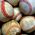 Pile Or Stack Of Baseballs For Playing Games by Lane Erickson